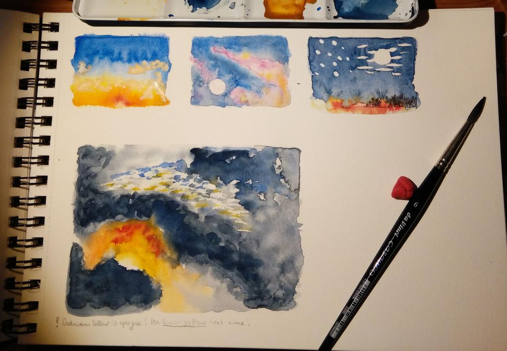 Excercise (clouds acording the tutorial) - image 3 - student project