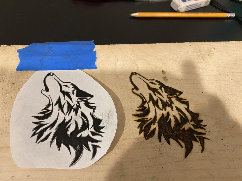 wolf - image 1 - student project
