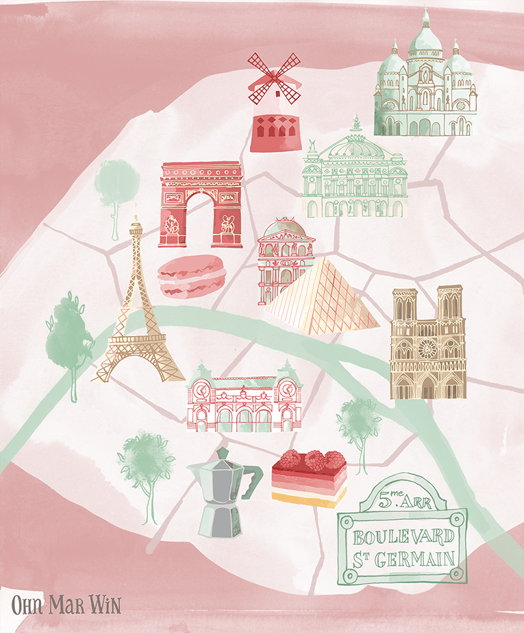 Finally my map Paris - image 2 - student project