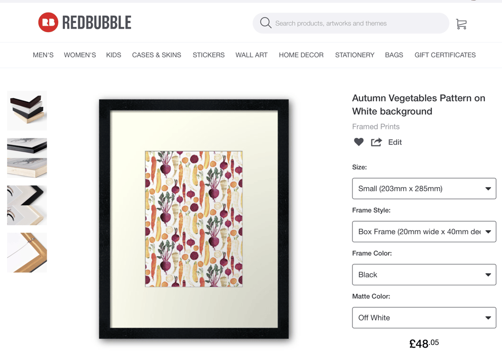 Art on RedBubble at last !! - image 3 - student project