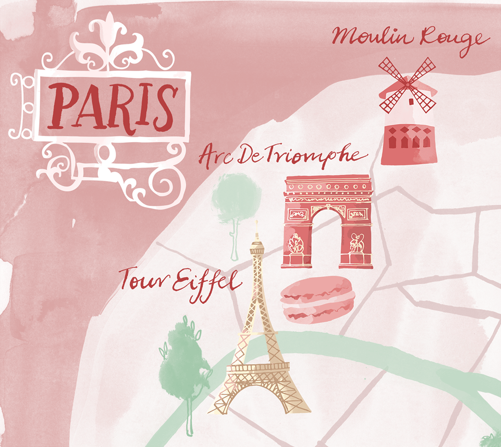 Finally my map Paris - image 1 - student project