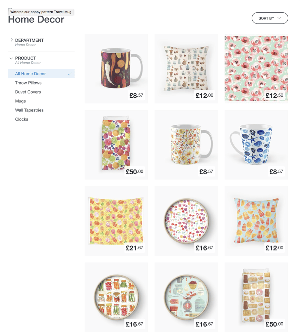 Art on RedBubble at last !! - image 2 - student project