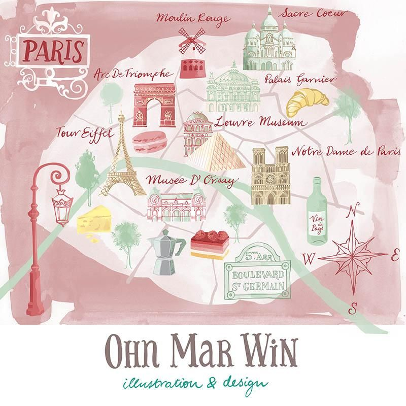 Finally my map Paris - image 3 - student project