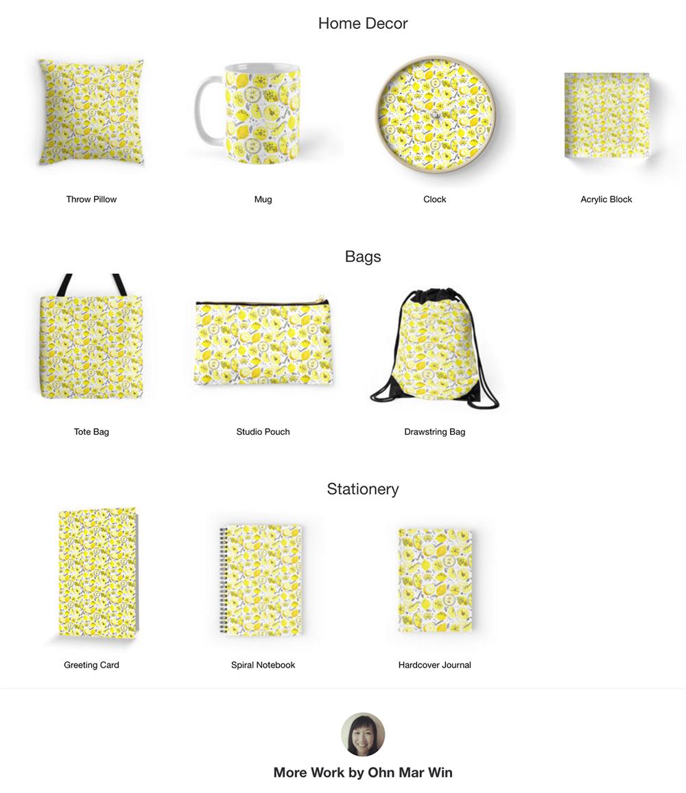 Zesty Lemons - image 2 - student project