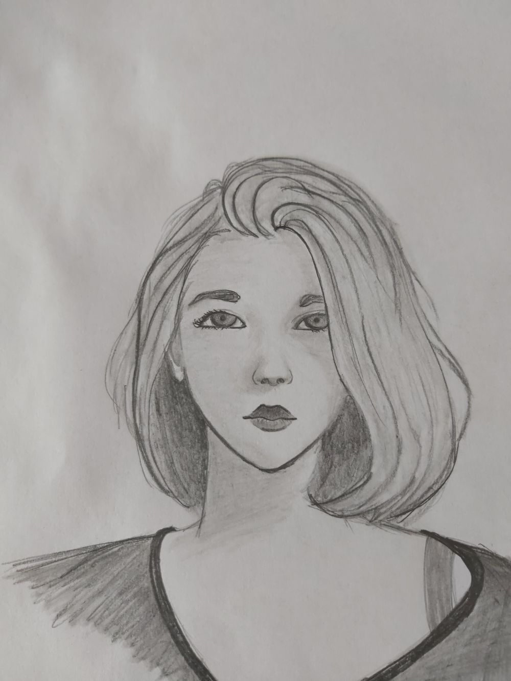 Female character practice - image 2 - student project