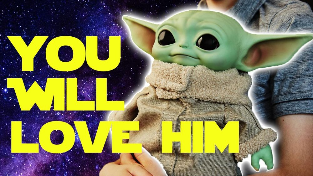 Irresistible Baby Yoda Collectable | I bought 2?? - image 1 - student project