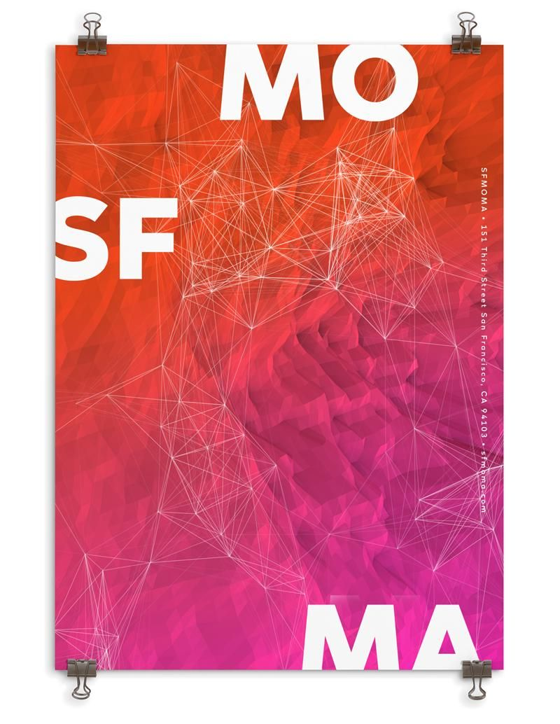 SFMOMA Poster - image 1 - student project