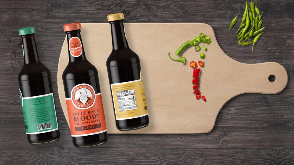 Uncle Ray's hot sauces - image 2 - student project