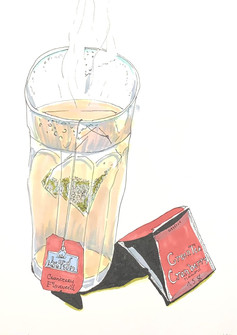 Daily Food Drawing Practice - image 2 - student project