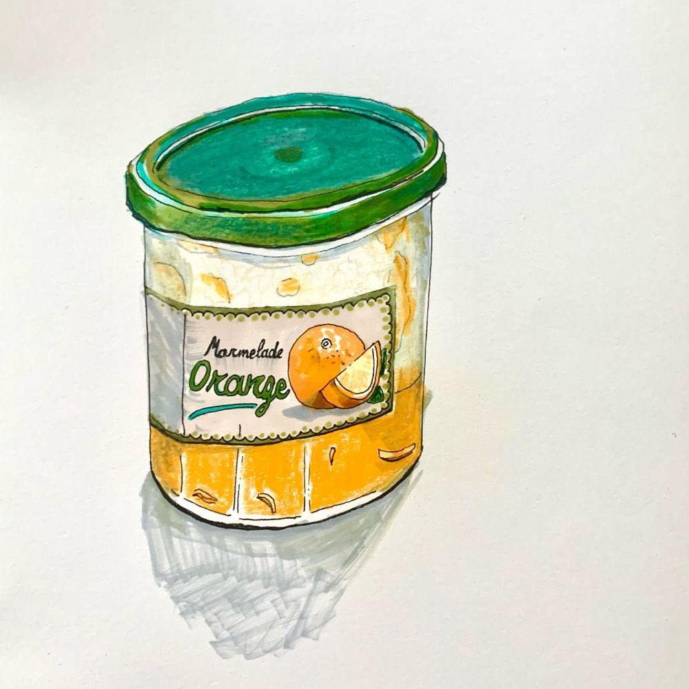 Daily Food Drawing Practice - image 5 - student project