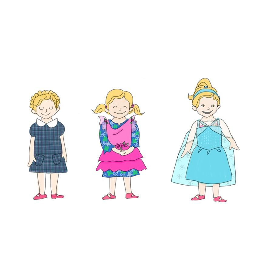 Olive's Kindergarten Fashions - image 2 - student project