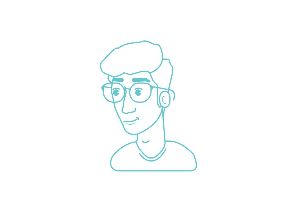 First go at self avatar - image 2 - student project