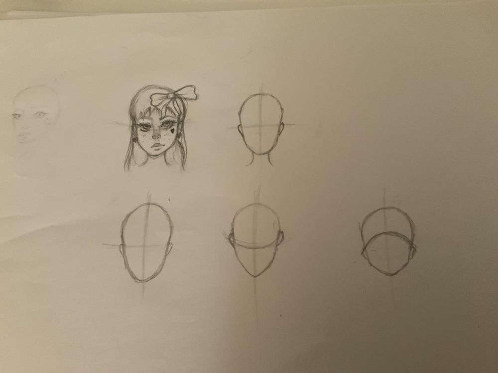 Face angles and shapes - image 1 - student project
