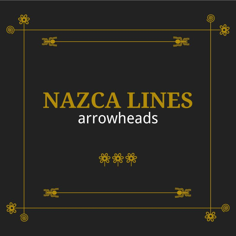 Nazca lines arrowheads - image 1 - student project