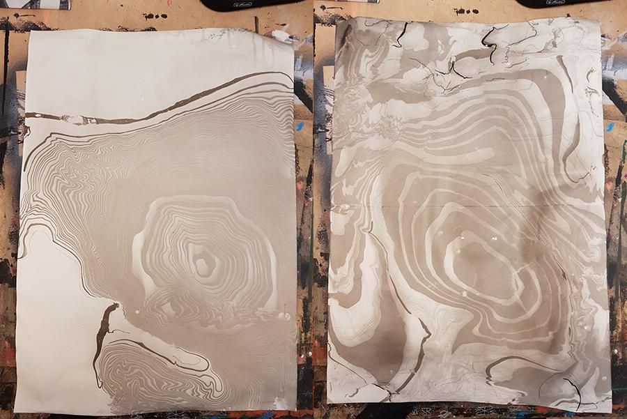 First Sumi Session - image 2 - student project