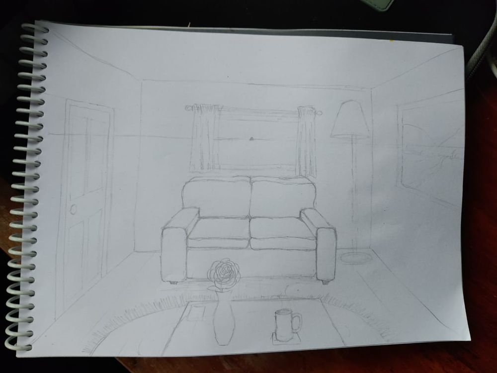 Learning One Point Perspective - image 5 - student project
