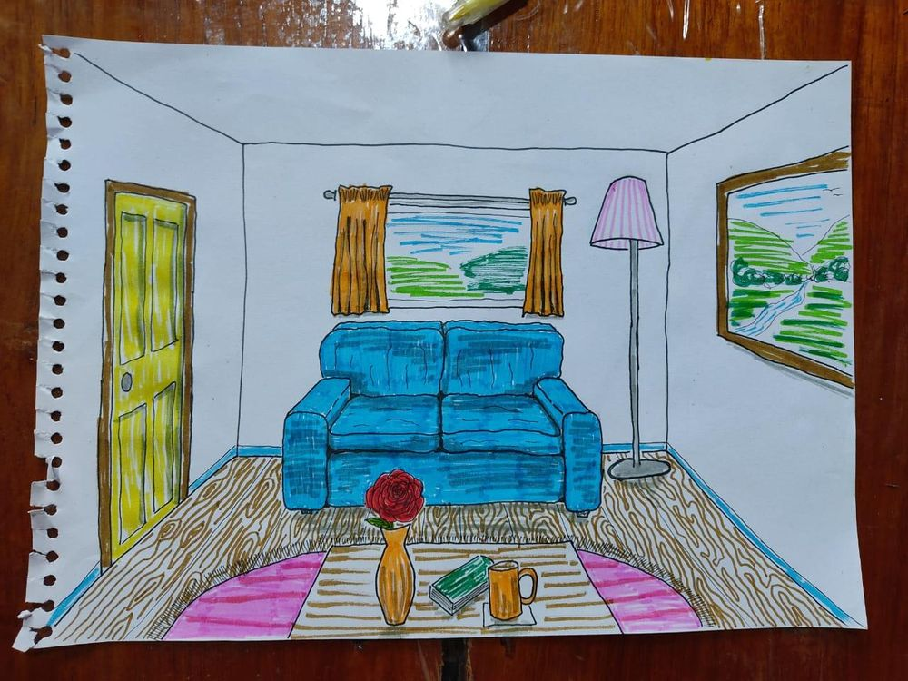 Learning One Point Perspective - image 6 - student project