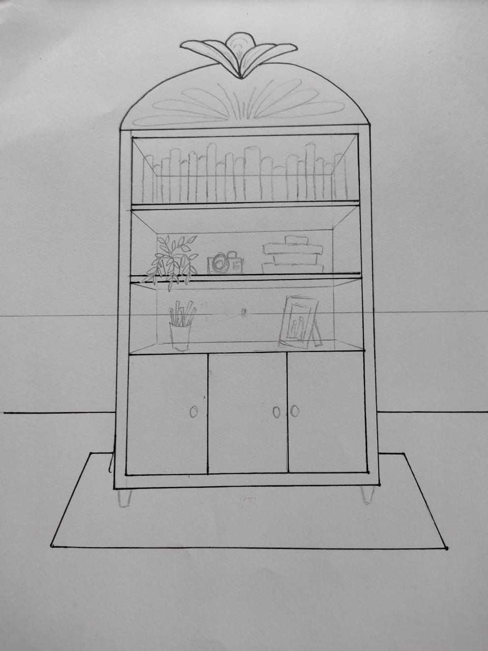 Learning One Point Perspective - image 2 - student project