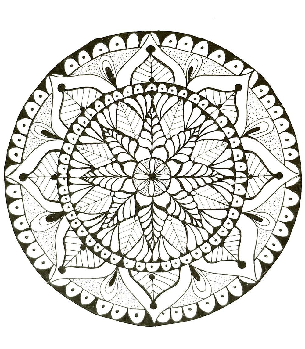 First Mandala - image 1 - student project