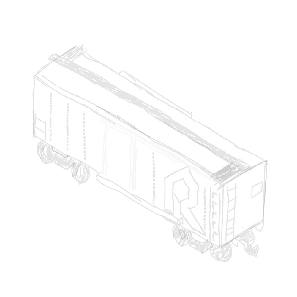 Old Rock Island train - image 2 - student project