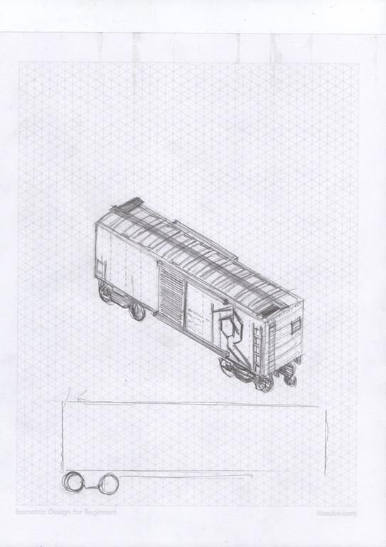 Old Rock Island train - image 1 - student project