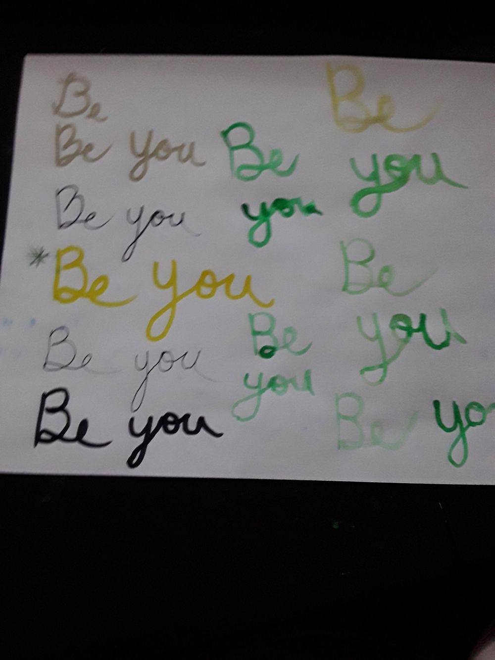 Be you - image 4 - student project
