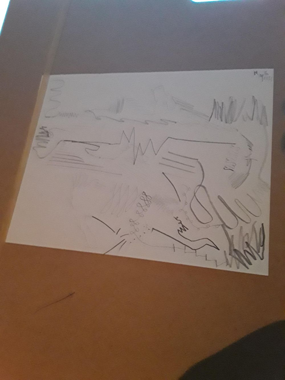 dynamic mark making - image 1 - student project