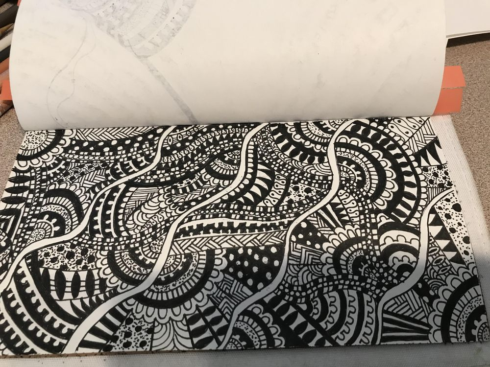 Organic Doodle - image 1 - student project