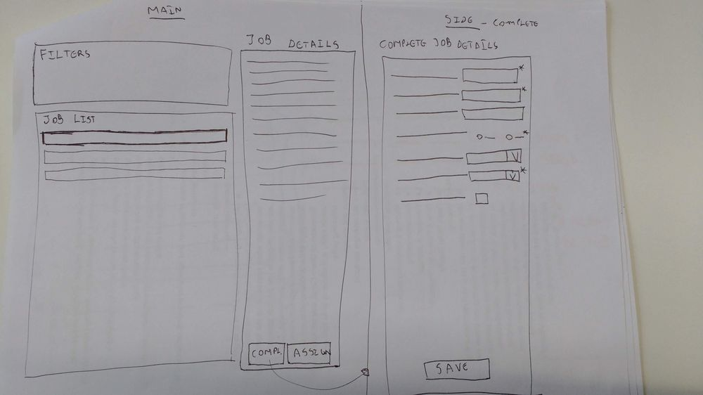 Planning interface - image 3 - student project