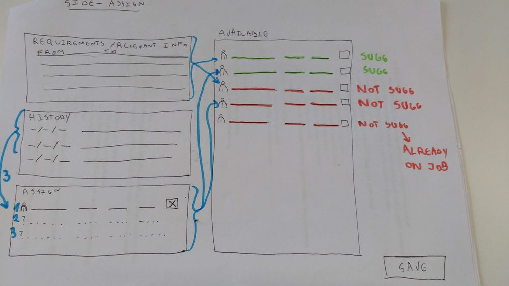 Planning interface - image 5 - student project