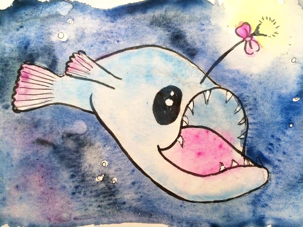 Adorable Anglerfish - image 5 - student project