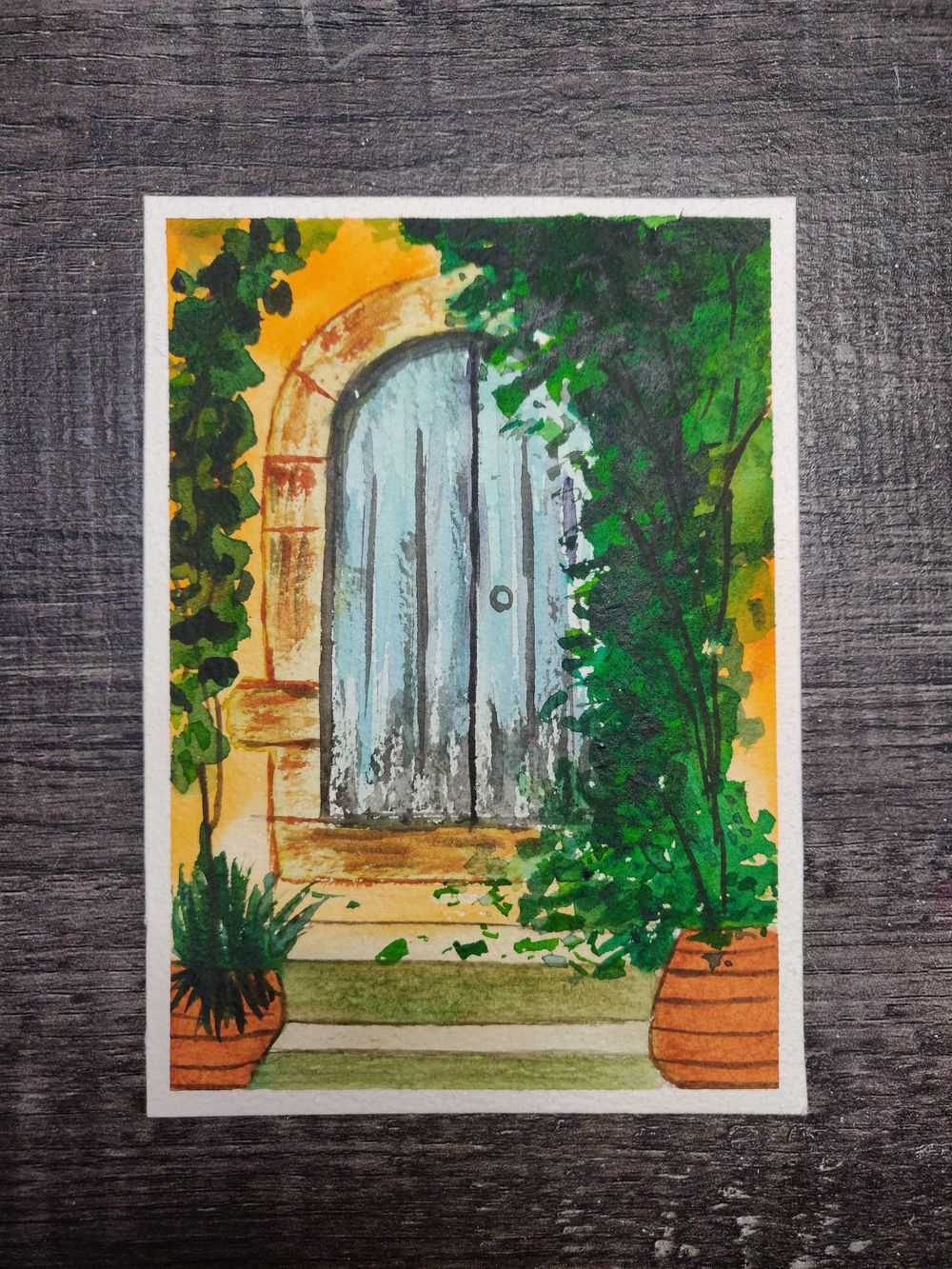 Old Rustic Doors - image 2 - student project