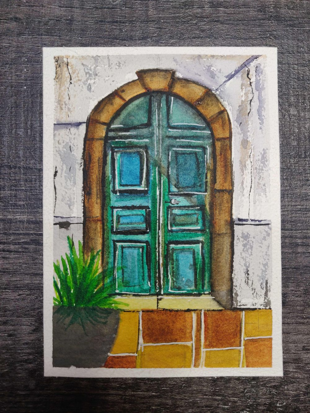 Old Rustic Doors - image 3 - student project
