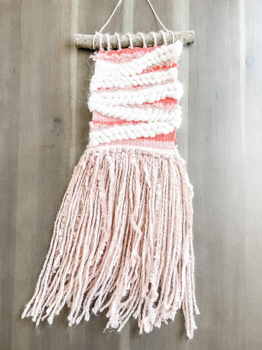 Coral Woven Wall Hanging - image 1 - student project