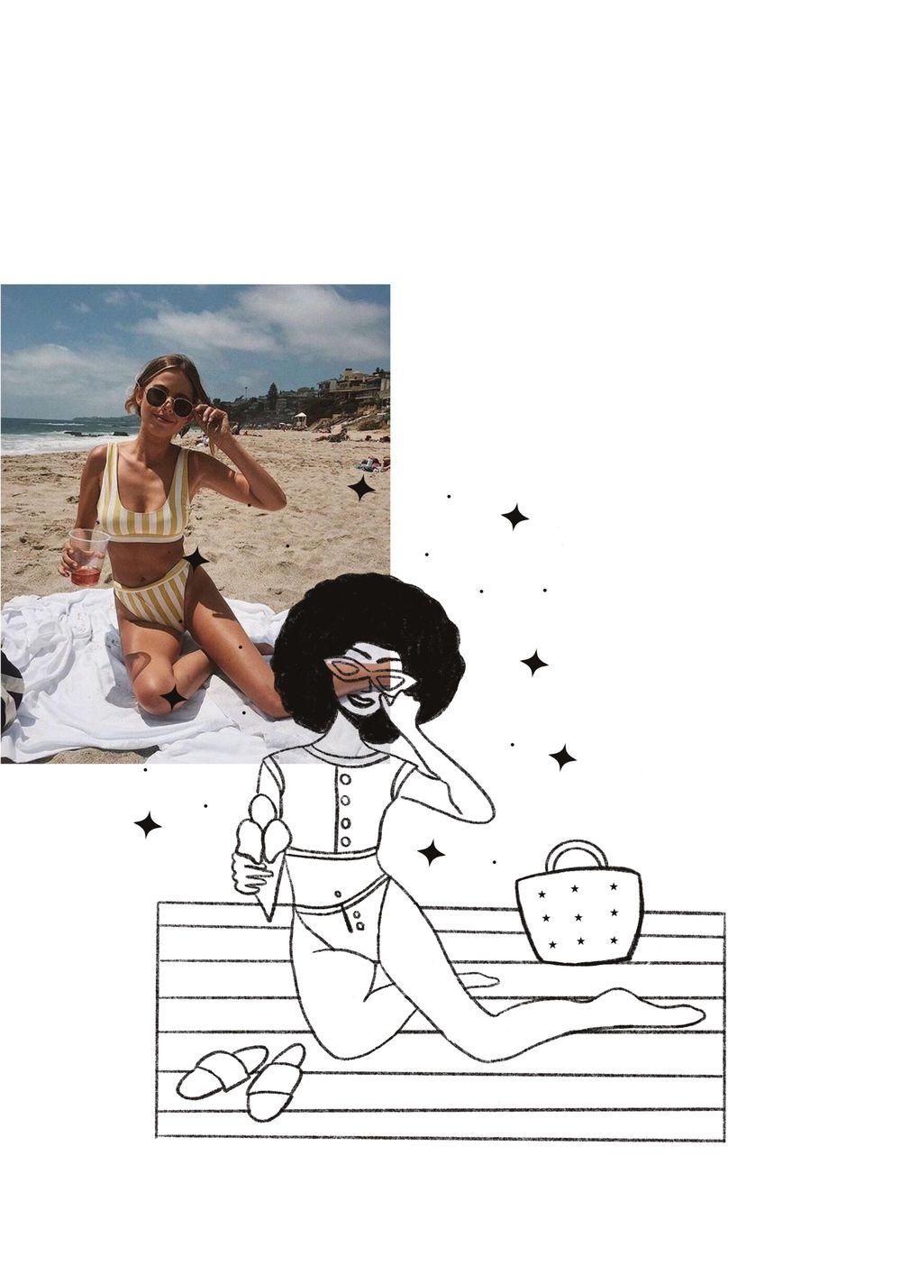 Bikini, Afro, and Ice cream - image 5 - student project