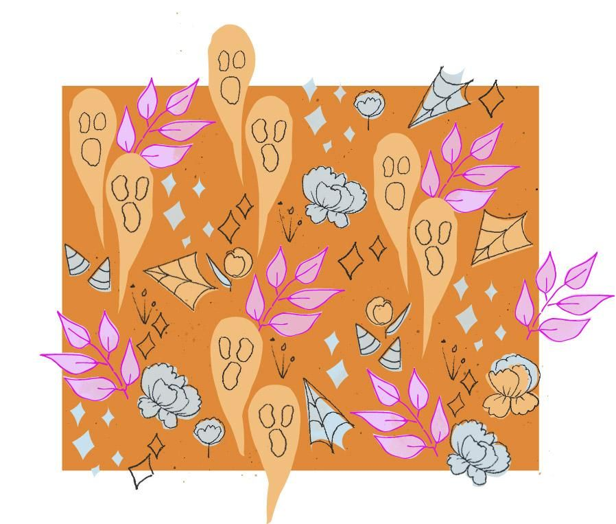 halloween pattern - image 1 - student project
