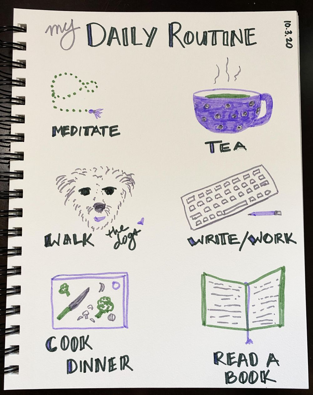 14 Days of Ilustrated Journaling - image 9 - student project