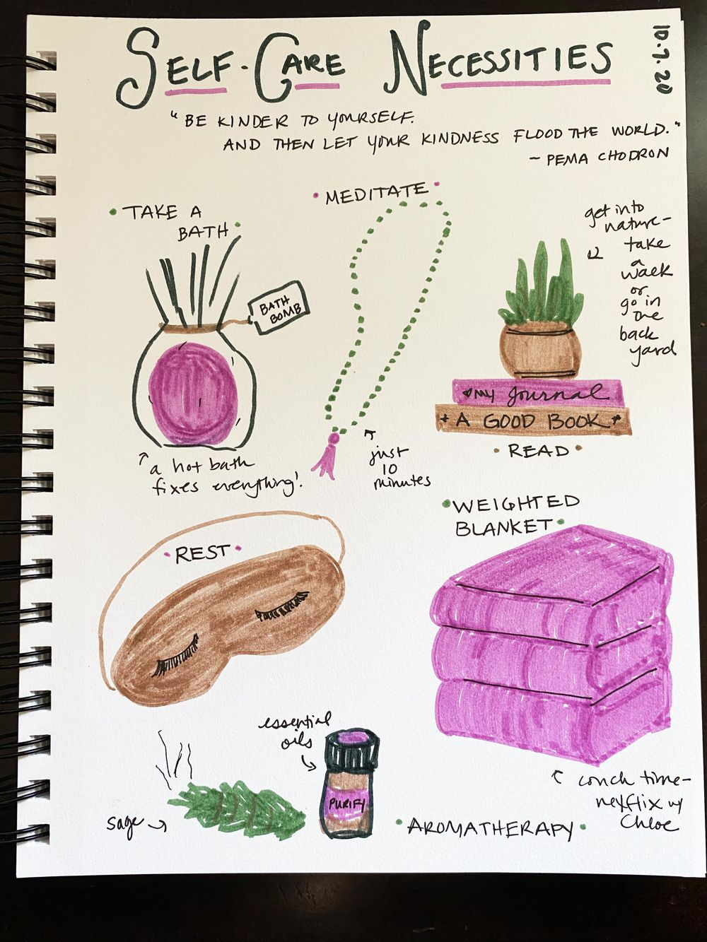 14 Days of Ilustrated Journaling - image 6 - student project