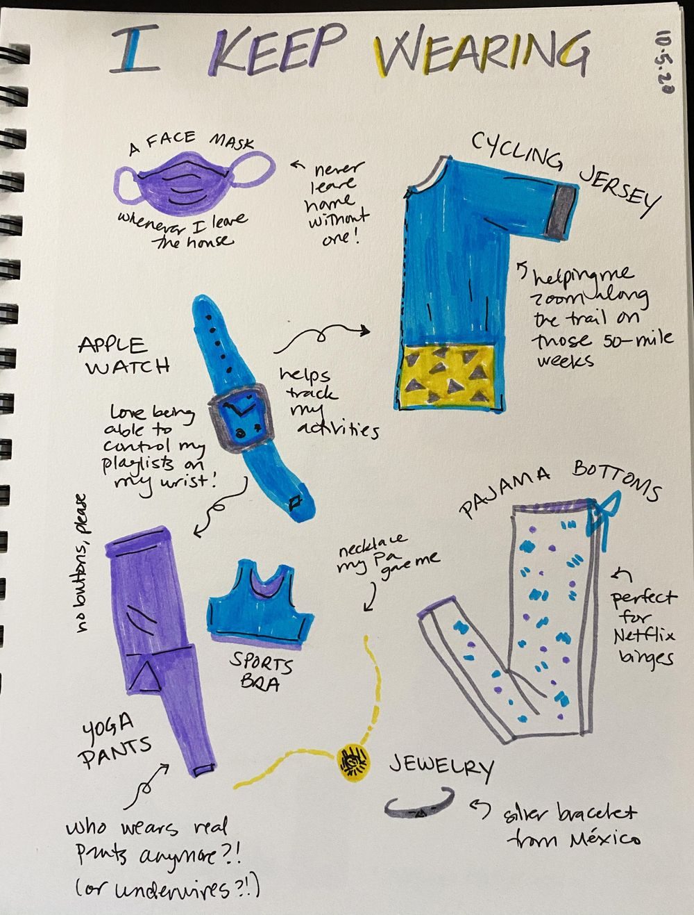 14 Days of Ilustrated Journaling - image 7 - student project