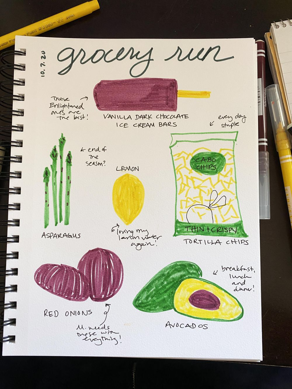 14 Days of Ilustrated Journaling - image 5 - student project