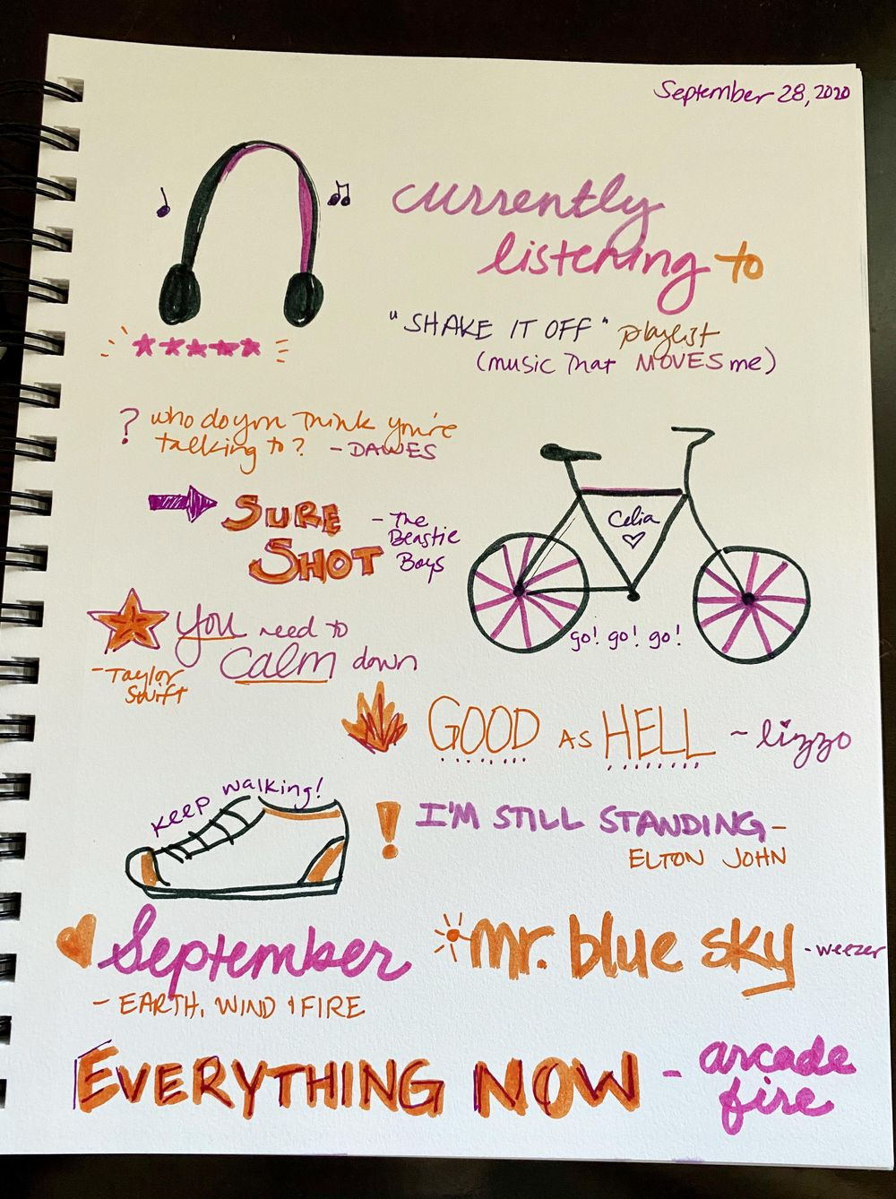 14 Days of Ilustrated Journaling - image 14 - student project