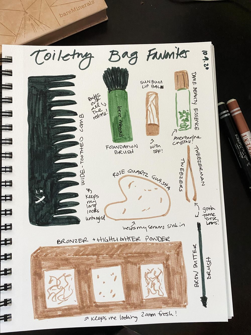 14 Days of Ilustrated Journaling - image 3 - student project