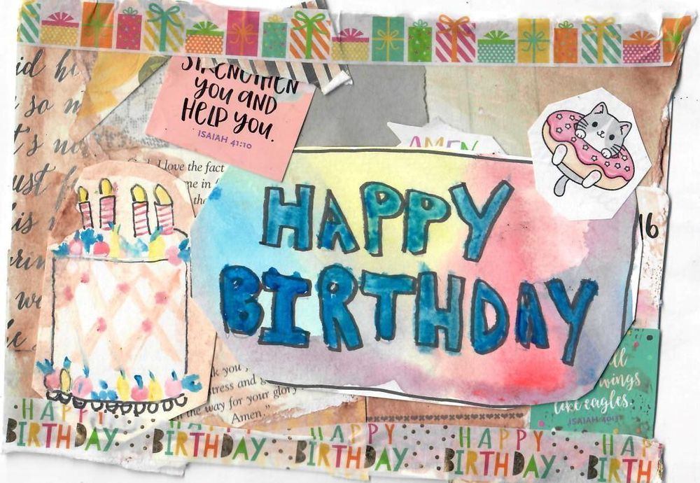 Birthday Card For a Friend - image 1 - student project