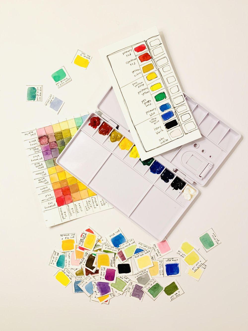 Gouache Palette - image 1 - student project