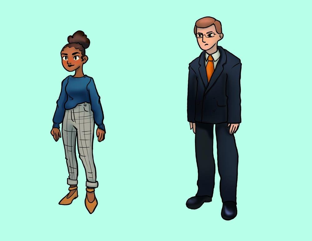 A supervillain comic - image 1 - student project