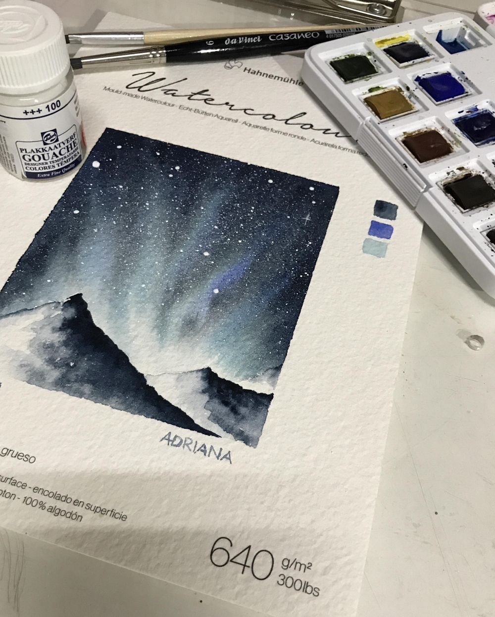 Northern Snowing Lights - image 1 - student project