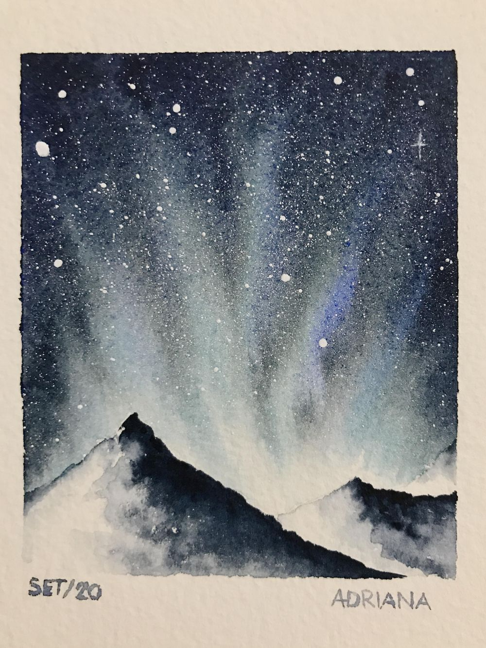 Northern Snowing Lights - image 2 - student project