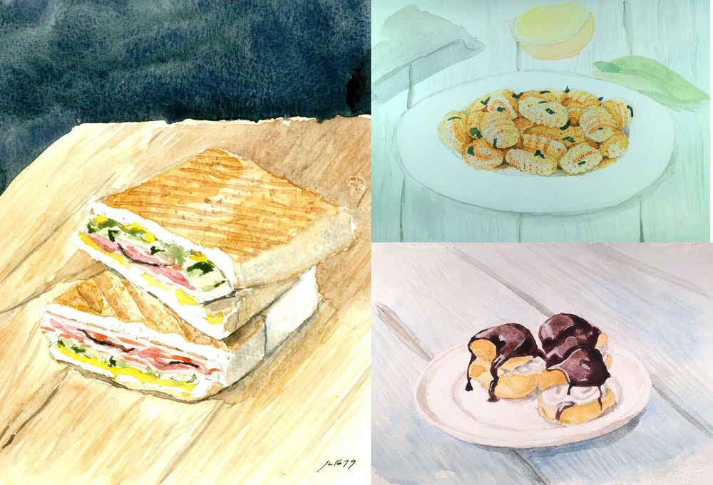 Selling Food Art To Buy Actual Food - image 1 - student project
