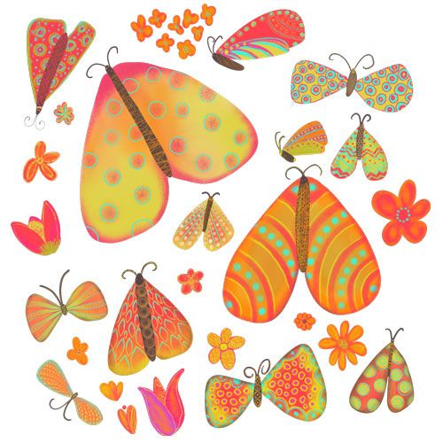 Moths Pattern - image 1 - student project