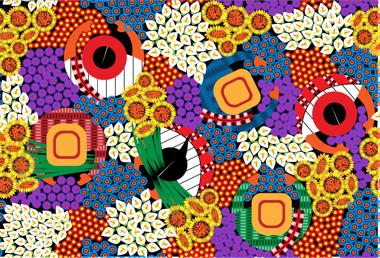 Guatemalan pattern - image 2 - student project
